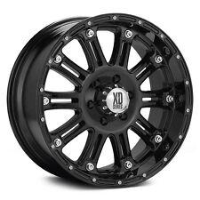 "XD Hoss Black 20"" Wheels W/ 33x12.50x20 Nitto  Tires"