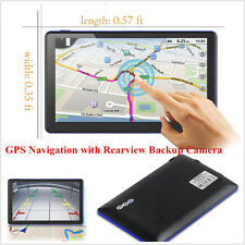 """7"""" 8Gb Car Gps Navigation with Rearview Backup Camera Bluetooth Fm Transmitter(Fits: Ford Windstar)"""