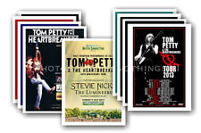 TOM PETTY - 10 promotional posters - collectable postcard set # 1