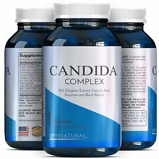 Candida Detox Cleanse Pills - Eliminate Yeast infection - With L. Acidophilus