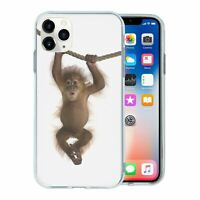 Silicone Phone Case Back Cover Animals Chimp - S2026