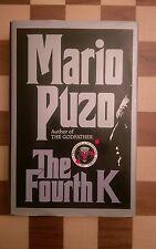 The Fourth K by Mario Puzo (Hardback, 1991) 1st edition 1st impression