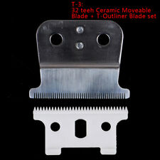 2Pcs T-outliner Replacement Blade Ceramic Blade Hair Detail Trimmer Razor CuWKV