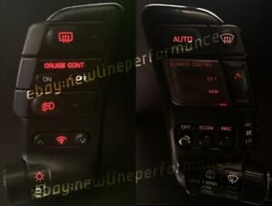 Red Headlight/Climate Pod LED Bulb kit For Nissan 300zx Z32 Turbo NA 1990-1996