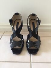 Steve Madden Stilettos - Black Patent Leather Size 8