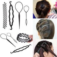 Braid Clip Women  Styling Tool  Bun Maker Donut Stick  Hair Braiding Hair Twist