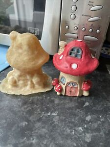 Mushroom Fairy house rubber latex Mould Mold fairies Garden Toadstool Cast Craft