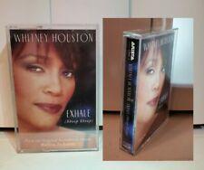 Whitney Houston Cassette - Exhale (Shoop) MAXI SINGLE 5 TRACKS (RARE)
