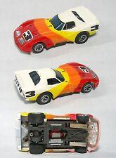 1981 Aurora AFX CHEVY CORVETTE GT Cats Eyes & Blazin' Brakes HO Slot Car #1011