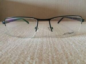 St Dupont Lunette Eyewear Half Frame Glasses Model DP 3048 Col3  Dark Blue 55mm