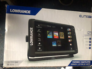 Lowrance Elite-12 Ti  With TotalScan Transom Mount Transducer  000-13718-001