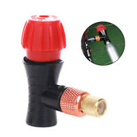 Portable Bike Bicycle Tire CO2 Inflator Pump Valve Head For Presta/Schrader
