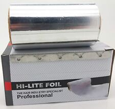 Foil Highlighting & Coloring Hair Tattoo boxed with Cutter aluminium 50mX10cm