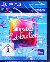 SingStar Celebration PS4 Spiel Play Link(Sing Star, Karaoke, Musik)NEU