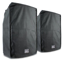 "2x QTX Sound 15"" Water Resistant Speaker Covers UK Stock"