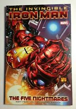 The Invincible Iron Man Marvel Graphic Novel The Five Nightmares #1-7