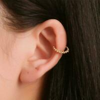 1Pcs Fashion Geometrical Ear Clip Cuff Wrap Earrings Women Jewelry Delicate Q1X1
