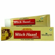 Medisynth Witch Hazel Cream (20g) To Prevent and Treat Sunburn, Acne, Pack of 2