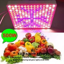 500W 225pcs 2835 LED Grow Light Full Spectrum Panel For Veg Flower Medical Plant