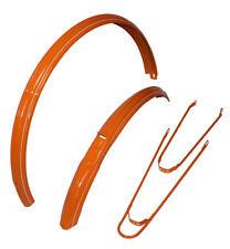 """Electra Amsterdam Orange Schutzbleche 28"""" 58mm, Hollandrad Fender"""