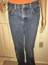 Express Precision Fit Low Rise Flare Women's Jeans Size 3/4 Long