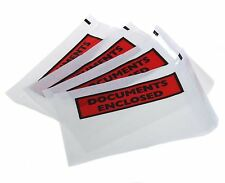 100 x A6 Documents Enclosed Envelopes Wallets - Printed