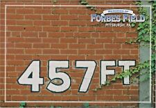 Forbes Field Historic 457 Ft. Red Brick Outfield Wall, Pittsburgh, Pennsylvania