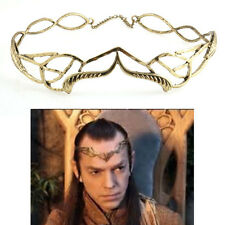 Cosplay The Lord of the Rings The Hobbit Elrond's Gloden Crown Film Head Jewelry