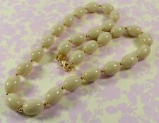 Lovely Vintage Joan Rivers Faux Buttermilk Amber Necklace