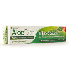 Optima Aloe Dent Aloe Vera Triple Action Toothpaste 100ml