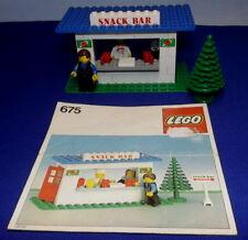 Lego 675 System Classic Snack Bar Imbiss von 1979 Haus Gebäude City