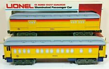 NOS !!!!! LIONEL CHESSIE STEAM SPECIAL PASSENGER SET 6-9581 BAGGAGE 6-9583 COACH