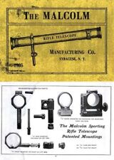 Malcolm Rifle Telescopes 1905 Catalog