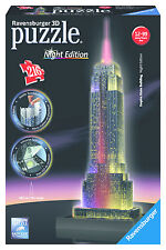 Puzzle 3d Ravensburger 12566 Empire State Building Da 12 Years