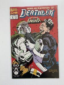 Deathlok #6 (Marvel 1991) Punisher Appearance