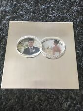 Metal Silver Wedding Photo Album