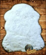 Sheepskin Bear Skin Rug Shaggy Faux Fur 10 Colors and Sizes