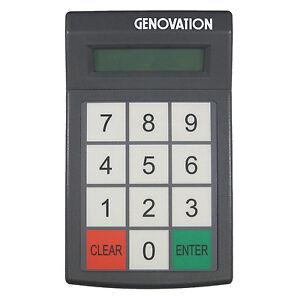 GENOVATION MINITERM 904-RJ NUMBER KEYPAD 12-KEY MEMBRANE
