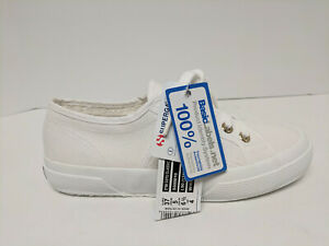 Superga 2750 Cotu Classic Sneakers, White, Womens 6.5 M
