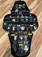 Vintage Star Wars Darth Vader Carrying Case with 26 Figures