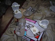 lot val 115 eur chaussures fille sandales GBB (CATIMINI ) 24 CUir