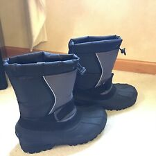 Black George Snow insulated Boots Size 7 Preowned