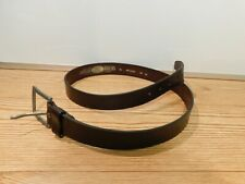 fff758a4 Replay Belts Men's belt leather belt brown size 38 Made in Italy ART2302  stamped