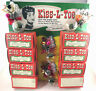 Vintage 1950s CHRISTMAS Kiss-L-Toe Store Display Counter Card Corsage Fresheners