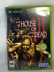 The House of the Dead 3 - Xbox - Complete
