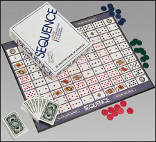 Sequence Game by Jax - Strategy Board Game Play a Card Fun Kid Free Shipping New