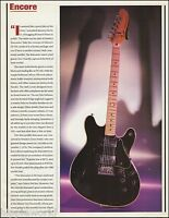 The 1976 Fender Starcaster electric guitar 8 x 11 pinup photo 2000 article print
