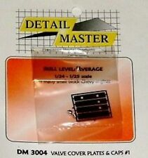 Detail Master DM#3004 Valve Cover Plates & Caps #1