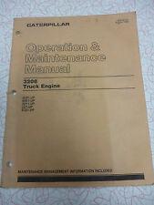 Cat 3208 operation and maintenance manual