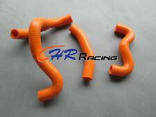 Silicone radiator hose for KTM 50SX 50 SXS SX Mini 2012-2018 13 14 15 16 ORANGE